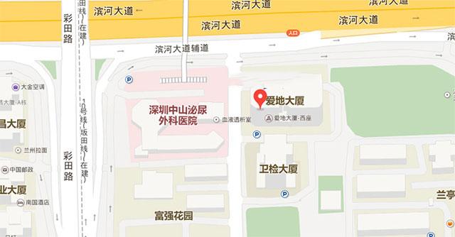 深圳优眠心理咨询中心地图